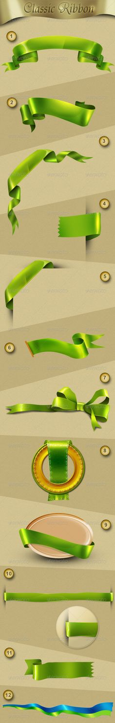 """Classic Ribbon  #GraphicRiver         - more than 10 ribbon  - u can change the color easily    src=""""farm8.staticflickr /7264/7406981436_7e86f0445e_b.jpg"""">     Created: 23June12 GraphicsFilesIncluded: PhotoshopPSD Layered: Yes MinimumAdobeCSVersion: CS5 PixelDimensions: 1320x990 Tags: blue #green #logo #red #ribbon"""