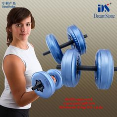 Free Shipping Fitness Equipment  Water Poured Adjustable Dumbbell for Sale dumbbell female with RoHS approved #Affiliate