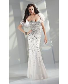 Prom Dresses, Celebrity Dresses, Sexy Evening Gowns at CheapStarDress: Long Strapless Sweetheart Chiffon Gown - US$245.00 - english