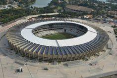 Mineirão 12 estádios da Copa do Mundo 2014