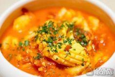 Receita de Caldeirada de frutos do mar em receitas de crustaceos, veja essa e outras receitas aqui!