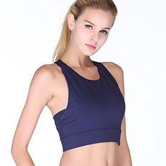 185c92ee10eec Royal Blue Fashion Women s Yoga Sports Bra Four-Way Stretch
