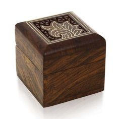 Box for Rings Earrings Toe Rings Cufflinks Small Jewelry Gifts Wooden -- See this great product.