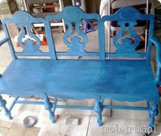Chairs to bench project