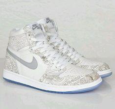 de04b73f89eb 2015 Nike Air Jordan Retro High OG 1 I White Laser Silver 705289-100  Fragment 13