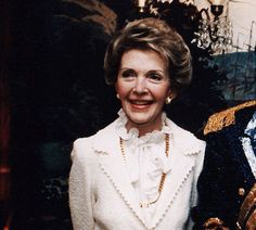 All First Ladies are cool. Nancy Reagan: Like her husband, Nancy Reagan was an actor in her early life. As a first lady, she coined the phrase ¿Just Say No,¿ which became the name of her massive anti-drug initiative.