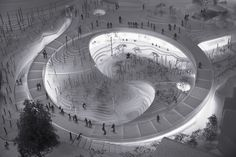 Gallery of BIG Designs Yin-Yang Shaped Panda Enclosure for the Copenhagen Zoo - 9
