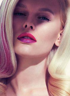 Fashion Magazine Poland Beauty Editorial - Alicja R.