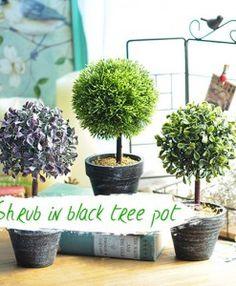 10pc Mini Lotus Leaf Model Fairy Garden Decoration Plant Pots Bonsai Craft