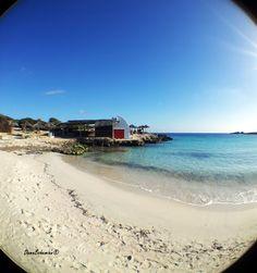 Binibeca beach, Menorca  (Balearic Islands) Spain