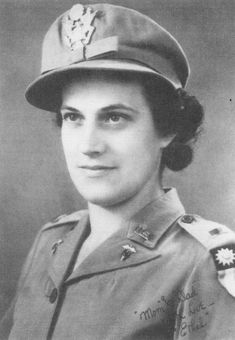 Army Nurse ETHEL G. YAVORSKY. Joined the ANC in 1941 ~