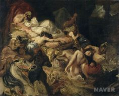 사르다나팔루스의 죽음