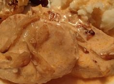 """Hungarian Style Pork Chops """"This has been a favorite in my family for at least 40 years. The sauce is delicious on mashed potatoes. Austrian Recipes, Croatian Recipes, Hungarian Recipes, Hungarian Desserts, Austrian Food, German Recipes, Pork Chop Recipes, Meat Recipes, Cooking Recipes"""