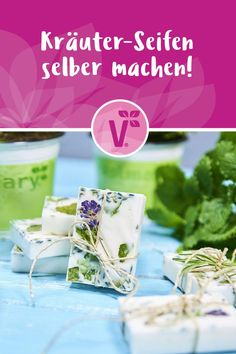 Make herbal soaps yourself Informations About Kräuter-Seifen selber machen Pin You can easily use my Art Tutorial, Fleurs Diy, Foundation, Word Design, The Thing Is, Pin Collection, Craft, Gifts For Him, Herbalism
