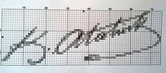 Ojeli Parmaklar: Beklenen Şablon Cross Stitching, Cross Stitch Embroidery, Filet Crochet, Knit Crochet, Pixel Art, Bookmarks, Hair Accessories, Knitting, Pattern