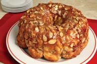 Almond Monkey Bread--sorta version of this.