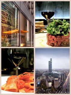La cucina del Santa Bistrò Moderno non chiude mai.  Il pranzo è sano e veloce, l'aperitivo ricco e frizzante, la cena curata e dai sapori inaspettati.  Le materie prime sono genuine e dagli ingredienti intatti.  La carta dei vini è un racconto di profumi e colori...