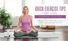 Quick exercise tips for your everyday routine | Young Living Blog