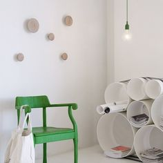 Hanging Lamp - Green  Muuto
