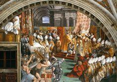 Incoronazione di Carlo Magno - Raffaello