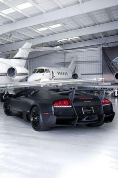 Lamborghini Private Jet