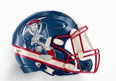 NFL Helmet Concepts Based on Cities That Need To Be Made Star Wars Helmet, New England, Football Helmets, Nfl, Hats, Cities, Hat, City