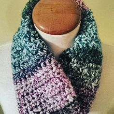 Another colorful cowl fresh off the hook! Order yours today!