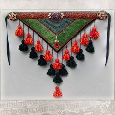 Tribal belly dance belt sewn together with a hip от HajnaLuna