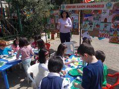 Zübeyde Hanım Anaokulu'ndan boyama şenliği