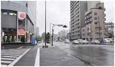 立川駅周辺 駅に近い県道