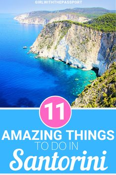 Not sure what to see in Santorini Greece when you visit? Then check out this guide to 11 of the most mesmerizingly beautiful attractions in Santorini. Between the Oia sunsets, the Santorini salads, and the hike from Fera to Oia, you definitely won't run o Greece Tourism, Greece Travel, Paros, Europe Travel Guide, Travel Destinations, Travel Guides, Santorini Travel, Santorini Greece Beaches, Santorini Island