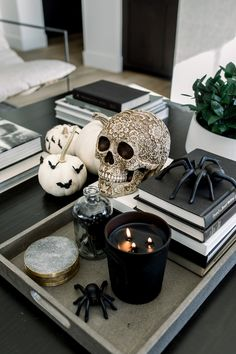 How We Decorated for Halloween - Andee Layne