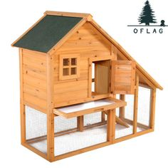 55'' Deluxe Rabbit Hutch Chicken Coop Bunny Cage Small Animal House Large w/ run in Pet Supplies, Small Animal Supplies, Cages & Enclosure   eBay