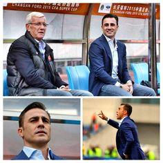 #FabioCannavaro Fabio Cannavaro: #Supercoppa #supercup #guangzhou #shandongluneng #lippi #coach