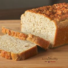 BREAD - Paleo, Gluten and Grain Free Sandwich Bread - I am craving a grilled cheese, so I may try this