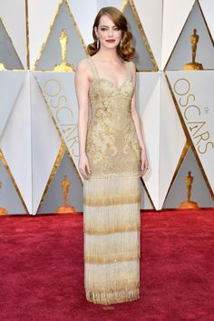 These are the 10 ladies that won the red carpet at the 89th Academy Awards: Emma Stone in Givenchy