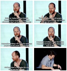 Joss Whedon this is why i love you! rule ruler rule!!!