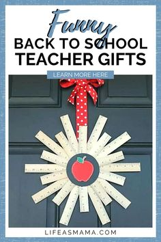 Summer is going to start wrapping up soon, and we will start to think about going back to school. When you start your shopping don't forget your beloved teachers. Life as Mama has 6 funny back to school teacher gifts that are sure to bring a smile! Tap the photo again to start your shopping list! #lifeasmama #backtoschool #teachergift #firstdayofschool Fun Crafts For Kids, Projects For Kids, Teacher Appreciation Gifts, Teacher Gifts, Pranks For Kids, Back To School Gifts For Teachers, Dance It Out, Back To School Shopping, Mom Hacks