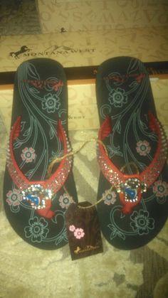 ed740c19a95ec0 Houston Texans Bling Flip Flops by vlg257 on Etsy