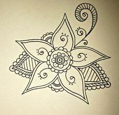 Henna Design III by puellaaeterna, via Flickr