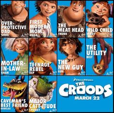 The Croods Movie, favorite movie from dreamworks all the time ❤