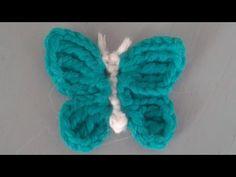 Schmetterling häkeln -einfach-
