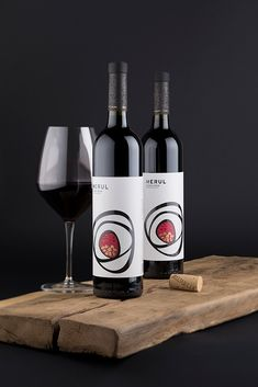 Modern Designed Wine Labels for Wine Range with a History / the Labelmaker - Merul Wine Labels – The Story Behind Wine Packaging Design / World Brand & Packaging Design Society
