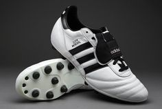 adidas Football Boots - adidas Copa Mundial - Firm Ground - Soccer Cleats - Running White-Black-Metallic Gold