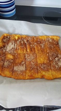 Yummy, takes like an elephant ear. Fathead pizza crust, butter, stevia and cinnamon. Here's the recipe..http://www.fathead-movie.com/index.php/2013/06/30/weekend-bonus-the-older-brothers-oldest-sons-faux-carb-pizza