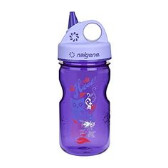 Nalgene GripNGulp Water Bottle Purple 12Ounce *** Read more reviews of the product by visiting the link on the image.Note:It is affiliate link to Amazon.