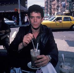 lou reed, new york, and nyc Bild