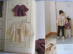 Mom and Girl Summer Clothing - Japanese sewing pattern book