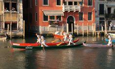 Super D'Este in action in the green gondola