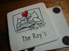Personalized Wedding Coasters - Set of 25 or more